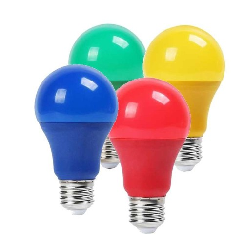 LED BULBS E27 COLORS